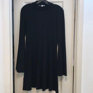 BCBGeneration mock neck a-line dress